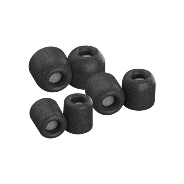 Comply foam tips Isolation Plus Black (Compatible with E4, H3, H5, E8) - Technoliving - Bang & Olufsen